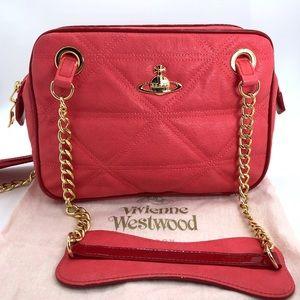 Vivianne Westwood Auth Vintage Shoulder Chain Bag